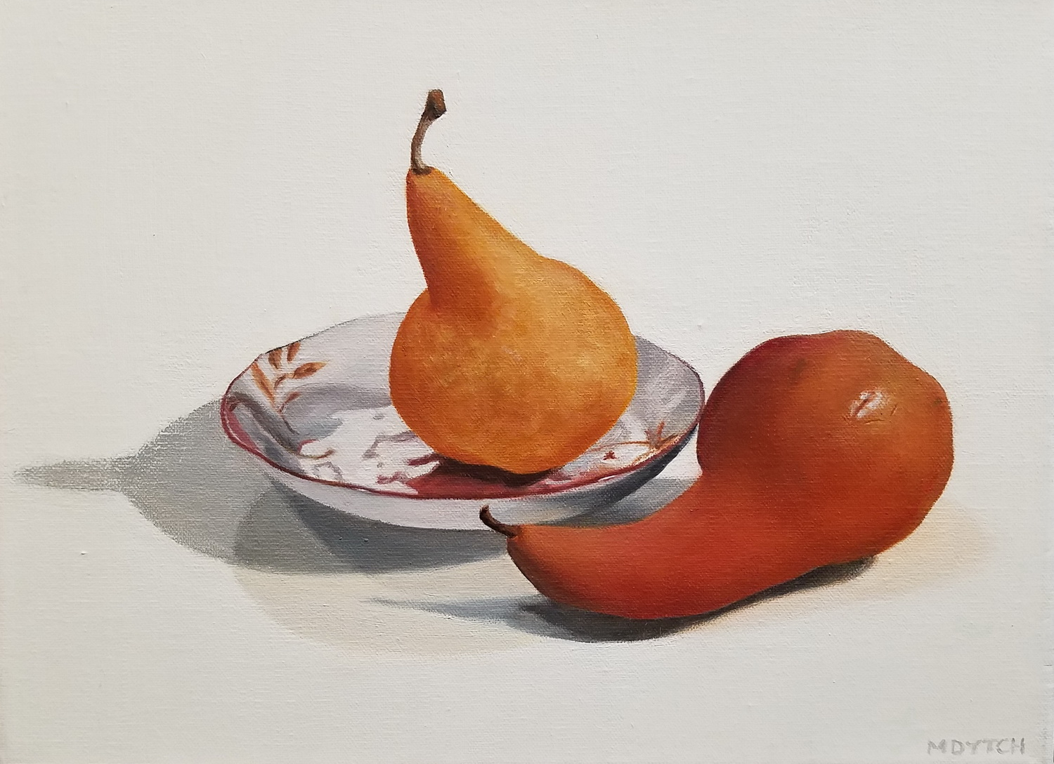 Two Pears with Japanese Dish