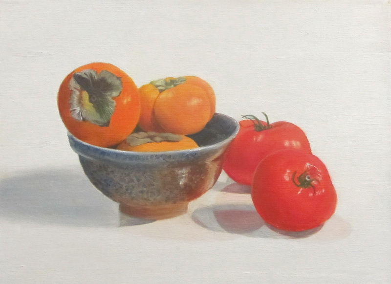 Persimmons and Tomatoes